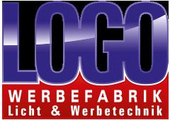 Logo Werbefabrik - Licht & Werbetechnik